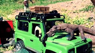 BRUDER Trucks Toys for CHILDREN ♦ Safari ADVENTURES with Bruder Jeeps!
