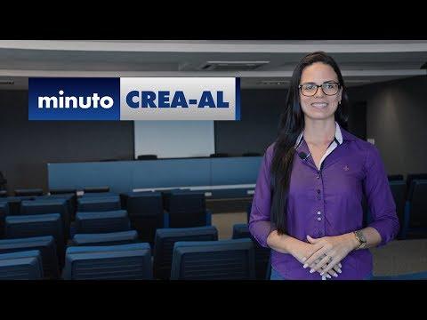 Minuto Crea-AL: Melhoria salarial e visita às universidades