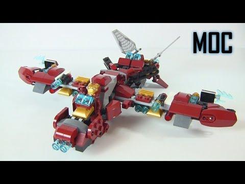 """""""Buster Jet"""" MOC Alternate Build of The Hulk Buster Smash 76031 LEGO Marvel Super Heroes"""