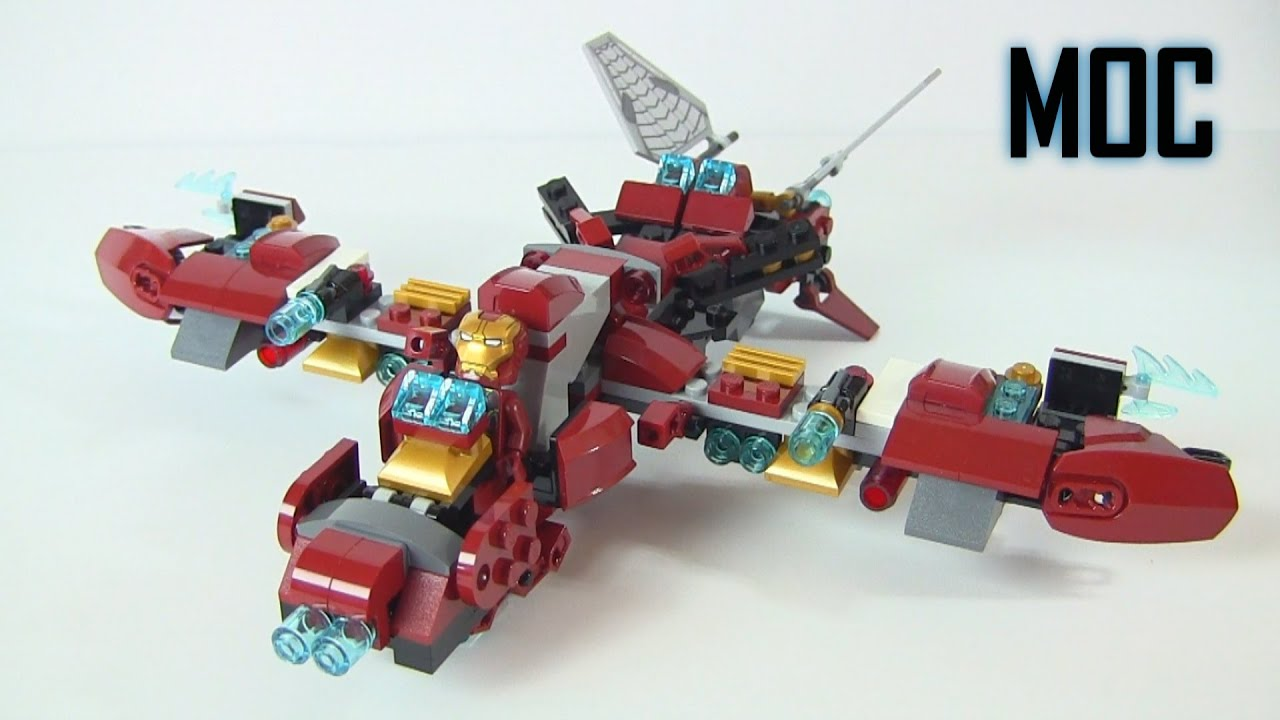 Buster Jet Moc Alternate Build Of The Hulk Buster Smash 76031 Lego