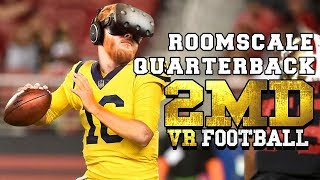 2MD VR Football: Draw up plays and become the quarterback in roomscale