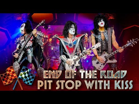 Bo and Jim - KISS - End of the Road Pit Stop w/Paul Stanley's Guitar Tech!