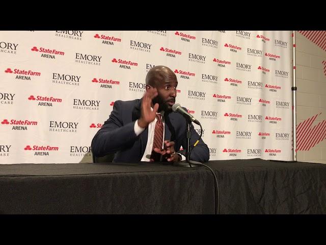 Atlanta Hawks Coach Lloyd Pierce Postgame Interview (2-29-20)