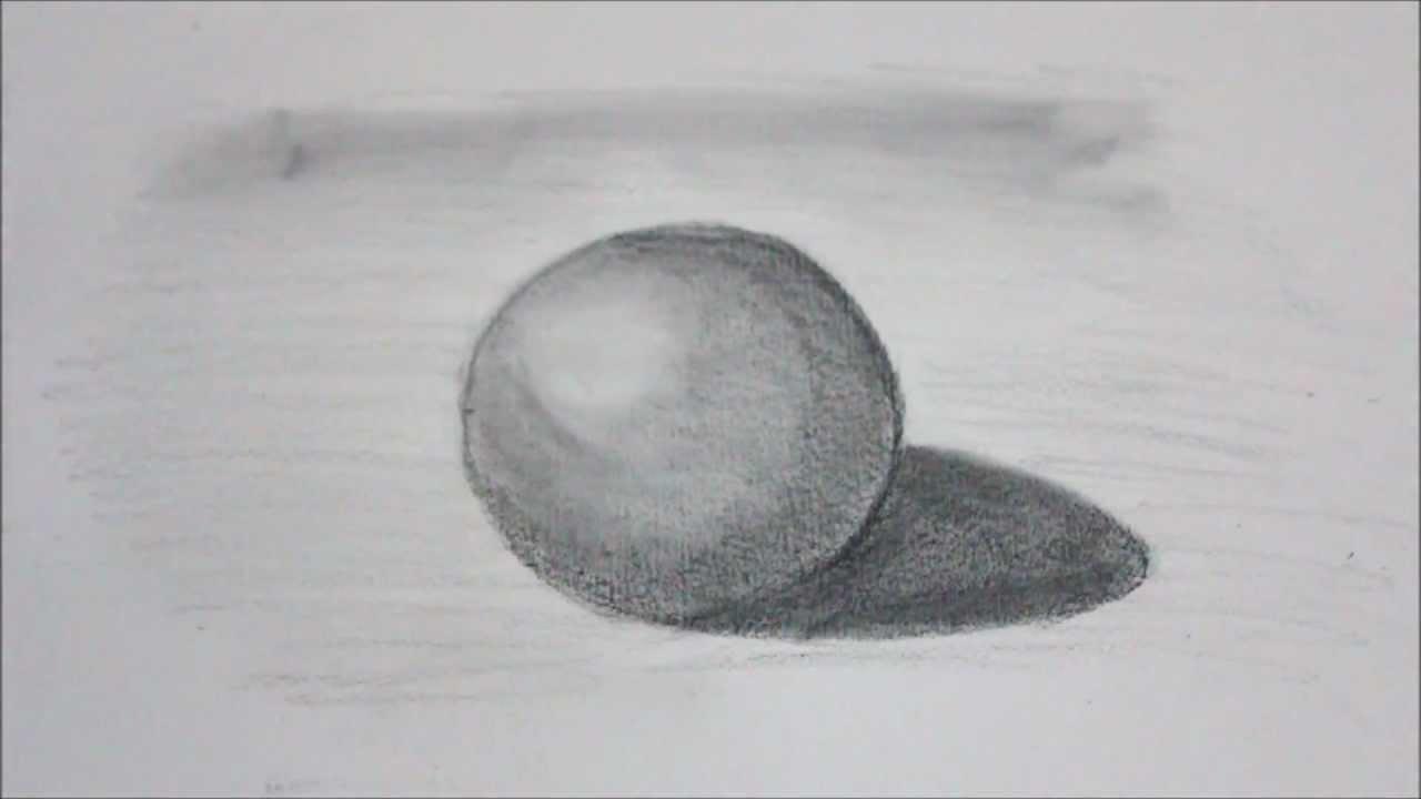 How To Draw A 3d Ball Sphere كيفية رسم صور ثلاثية ابعاد 2 كرة