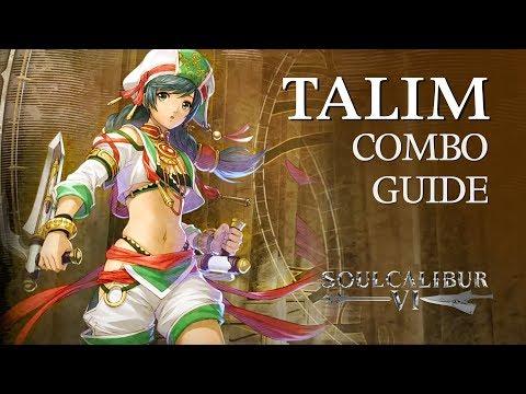 TALIM Beginner Combo Guide - SOULCALIBUR VI