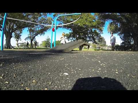 GoPro Skating Test Globe Skateboard 120fps 720p