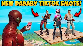 *NEW* DaBaby TIKTOK DANCE IS HERE!! - Fortnite Funny Fails and WTF Moments! 1193