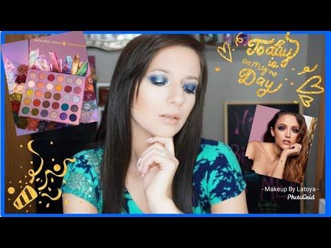 KATHLEENLIGHTS SO JADED PALETTE | 26TH BIRTHDAY TUTORIAL 2019 thumbnail