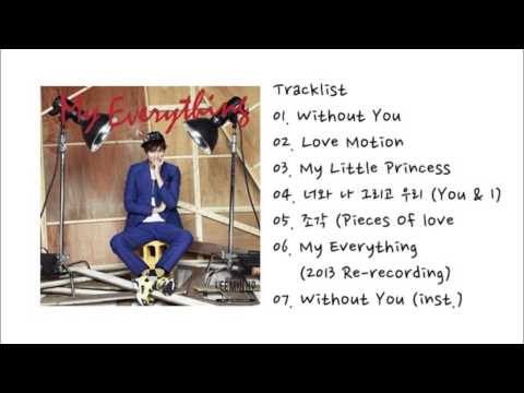 Lee Min Ho -- My Everything【FULL ALBUM 】