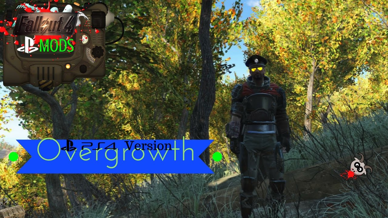 Fallout 4 PS4 Mods: 'Overgrowth' (Link works again! please give it a go!)