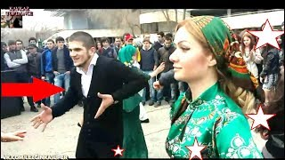 Лезгинка 2019. Парень Похожий на Хабиба Танцует От Души Лезгинку