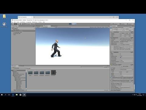 Autodesk Character Generator to Unity (fully animated)