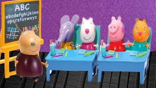 peppa pig english episodes toys surprise eggs peppa pig and play doh hd