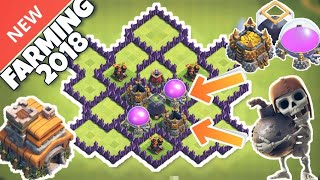 TH7 FARMING BASE *NEW* 2018 ANTI EVERYTHING - CLASH OF CLANS