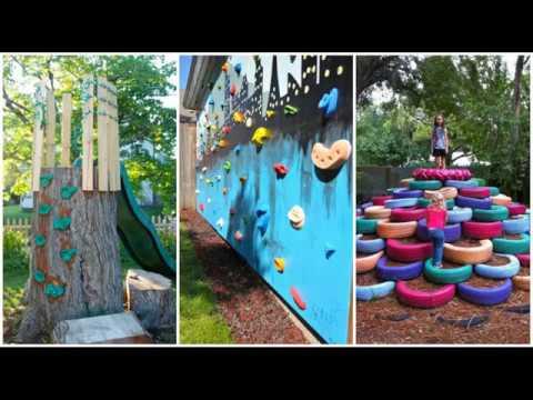 Top 40 FUN Backyard Garden Landscaping Ideas Tour 2018 ... on Pool Patio Ideas On A Budget id=43610