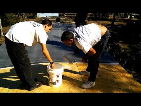 how-to-repair-a-single-wide-mobile-home-trailer-roof-start-to-finish-shallotte-nc