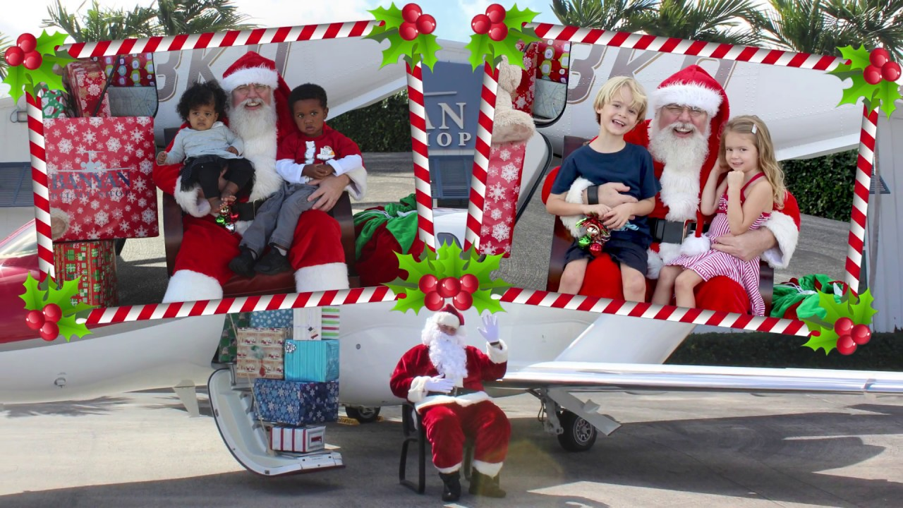 Photos With Santa at Banyan Pilot Shop
