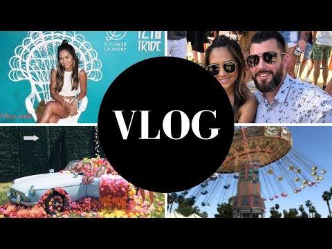VLOG: Coachella, Revolve Festival and What I Wore