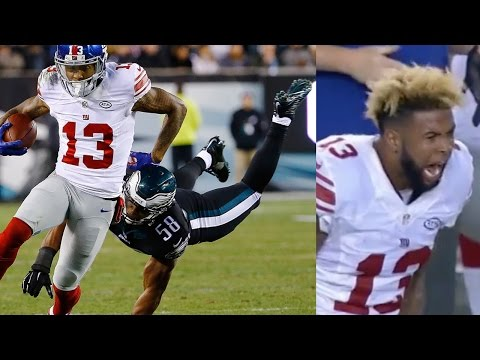 Odell Beckham Jr. FREAKS OUT After Loss Against Eagles, Prays With Victor Cruz