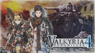 Valkyria Chronicles 4 - All Cutscenes (Game Movie)