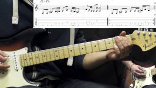Stevie Ray Vaughan - Hideaway - Blues Guitar Lesson Part 2 (with Tabs)