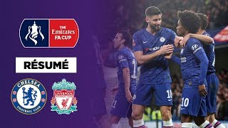 Résumé : Chelsea inflige à Liverpool une 2ème défaite de suite et l'élimine de la FA Cup !