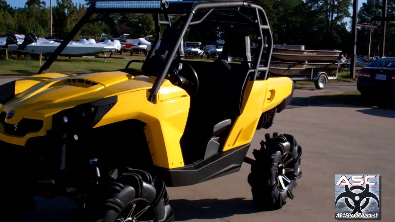 """Lifted Can Am Atv >> 2012 Can Am Commander X """"Lifted"""" - YouTube"""
