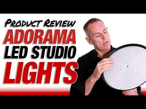 LED Studio Lighting Kit - Adorama CL1144R Review + Discount