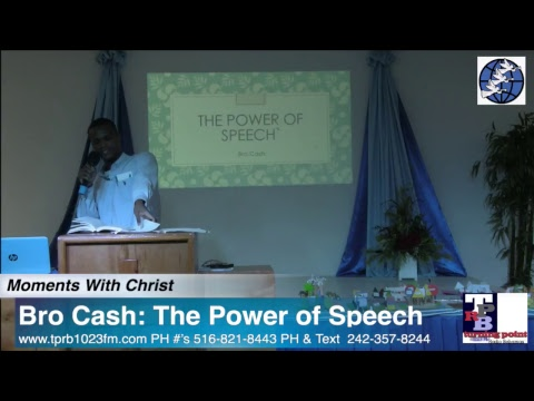 Bro Cash: The Power of Speech!