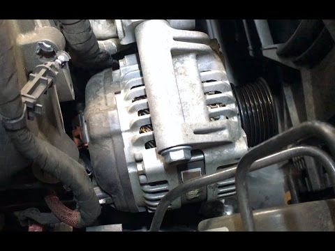 2012 Dodge Charger Rt 5 7l Alternator Youtube