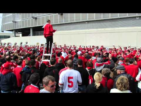 Sloopy and Archie Griffin Spring OSU Game 4 13 2013
