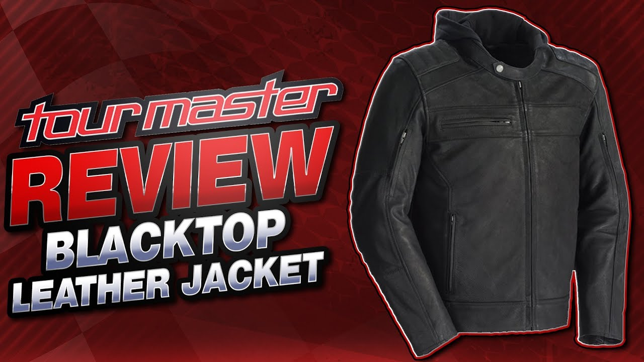 Tour Master Blacktop Leather Jacket Review from Sportbiketrackgear.com