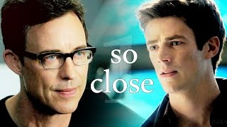 harrison wells & barry allen ▪ so close ► the flash