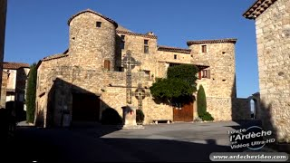 Ardèche - Bessas - un village Ardèchois (4K)