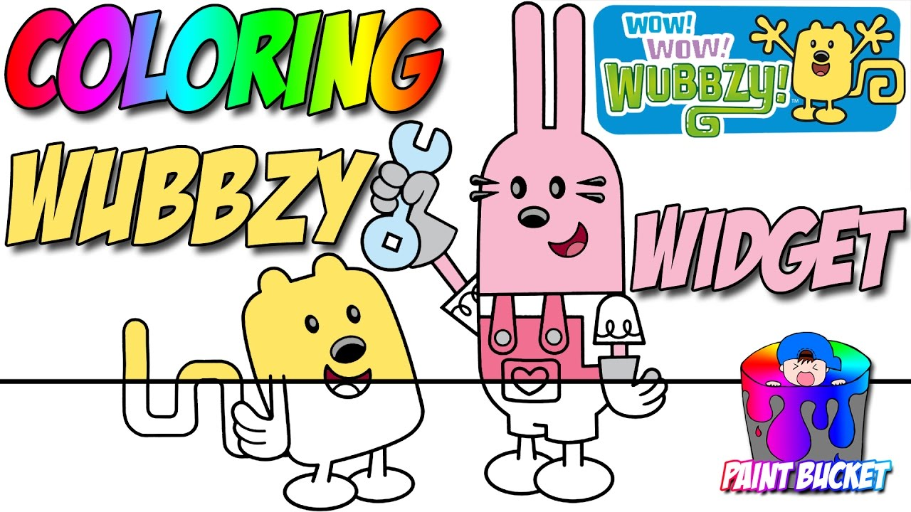 Wow! Wow! Wubbzy! Widget Coloring Pages - Nickelodeon Nick Jr ...