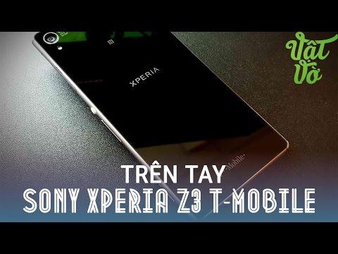 Vật Vờ| Trên tay đánh giá nhanh Sony Xperia Z3 T-mobile mỹ thay thế cho Z3 Nhật