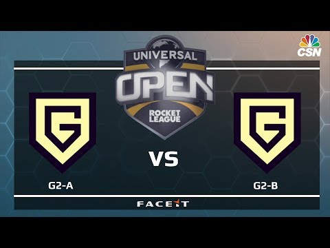 G2-A vs G2-B - Universal Open Rocket League
