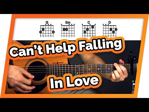 Can't Help Falling In Love With You Guitar Tutorial (Elvis Presley) Easy Chords Guitar Lesson