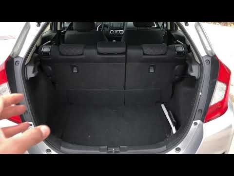 HONDA FIT SPARE TIRE - WHERE TO FIND IT