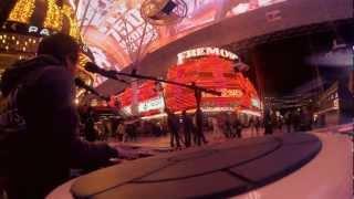 Street-Gig in Las Vegas! / RECLAIM YOUR STREETS TOUR USA 2013 mit Vinh Khuat