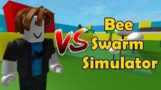 Noob VS Bee Swarm Simulator!  Funny Edition