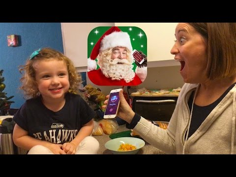 A Call From Santa! (iPhone App Review)