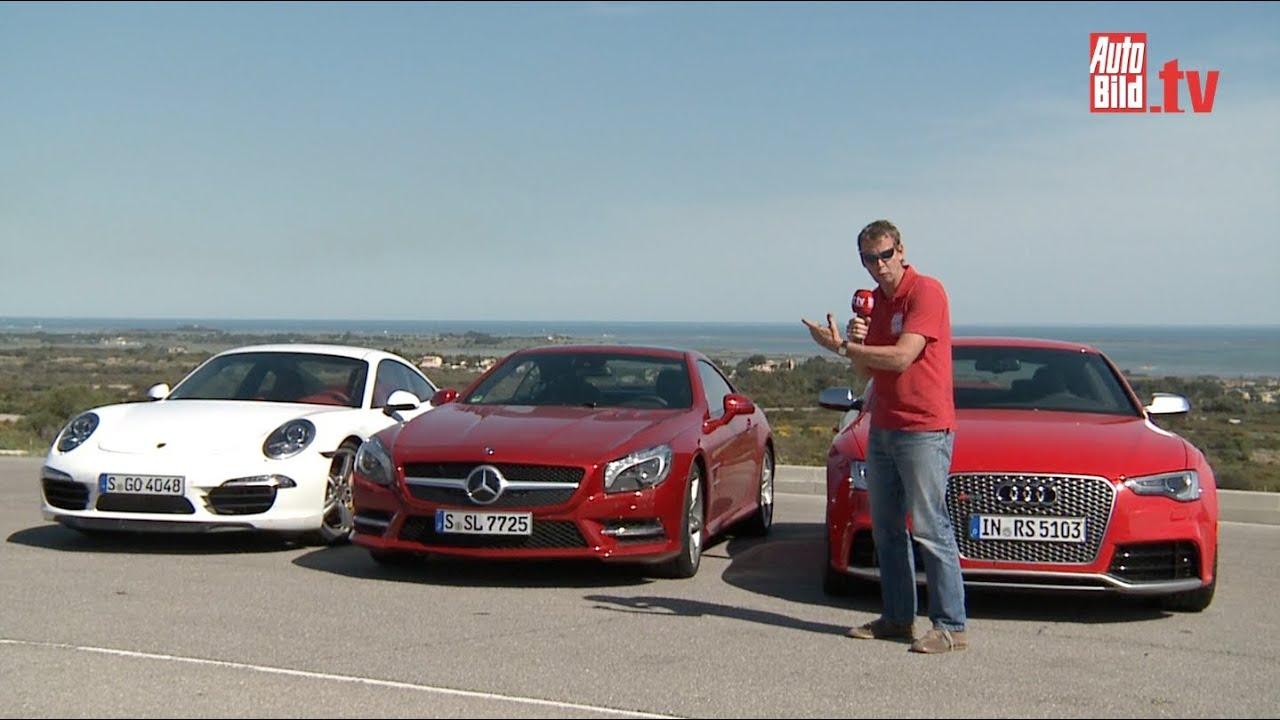 Mercedes Sl Vs Jaguar F Type