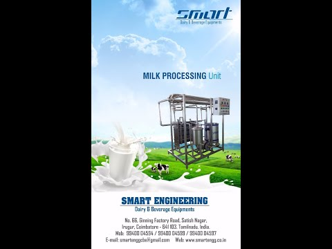 MINI DAIRY PLANT 100 LPH - SMART ENGINEERING