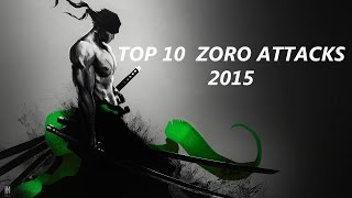 Top 10 Zoro Attacks 2015