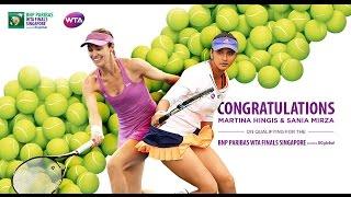 Martina Hingis and Sania Mirza Qualify For 2016 WTA Finals