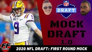 NFL Mock Draft 2020 Full 1st Round (1.0) with Trades