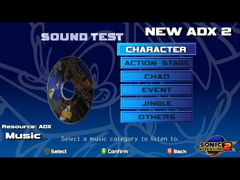 New ADX 2 Music mod for SA2PC Mod Manager  City Escape Gameplay