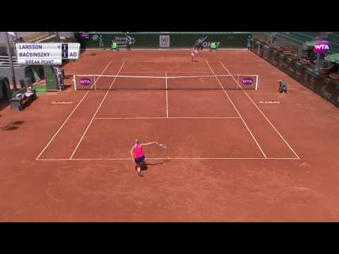2017 Rabat Day 2 | Shot of the Day | Timea Bacsinszky