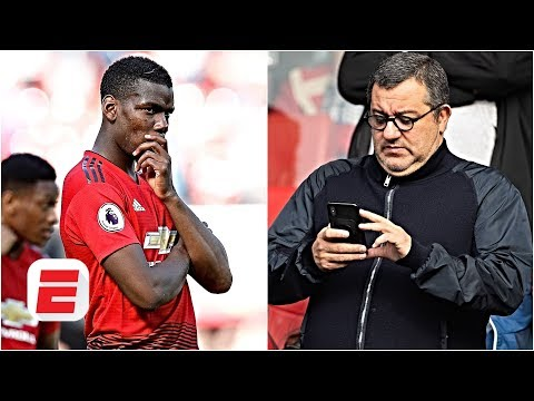 Mino Raiola 'laying the groundwork' for Paul Pogba's Man United exit - Gab Marcotti | ESPN FC